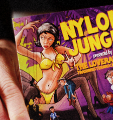 NYLON JUNGLE / The Loverangers / Tonträgergestaltung